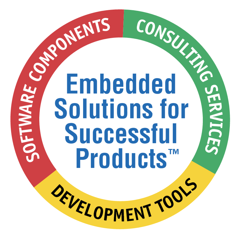 Embedded Solutions fot Successful Products vector logo
