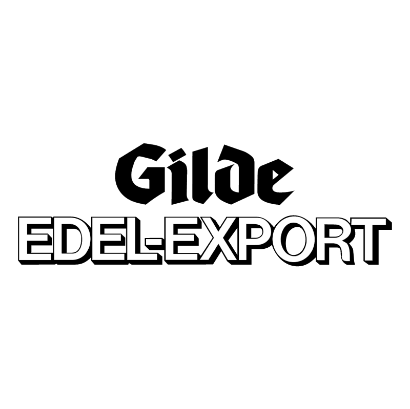 Gilde Edel Export vector