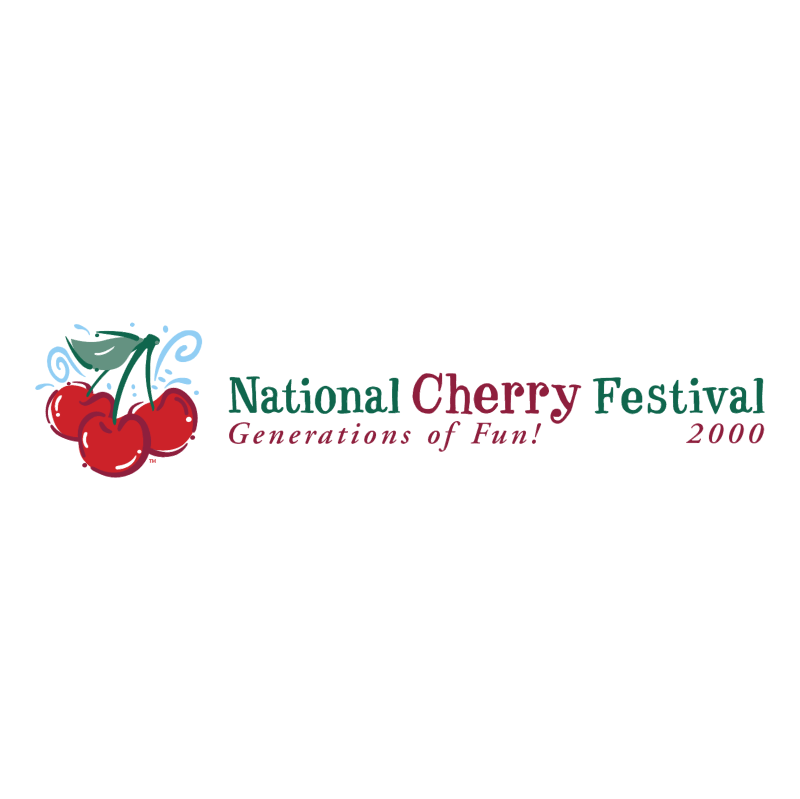 National Cherry Festival vector
