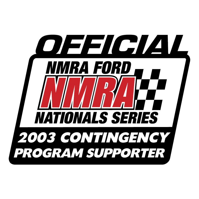 NMRA Official 2003 Contingency Program Supporter vector logo