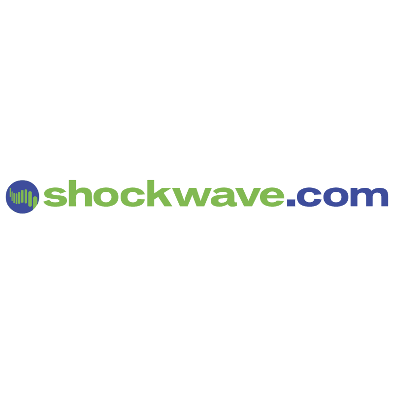 Shockwave com vector logo