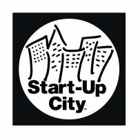 Start Up City vector