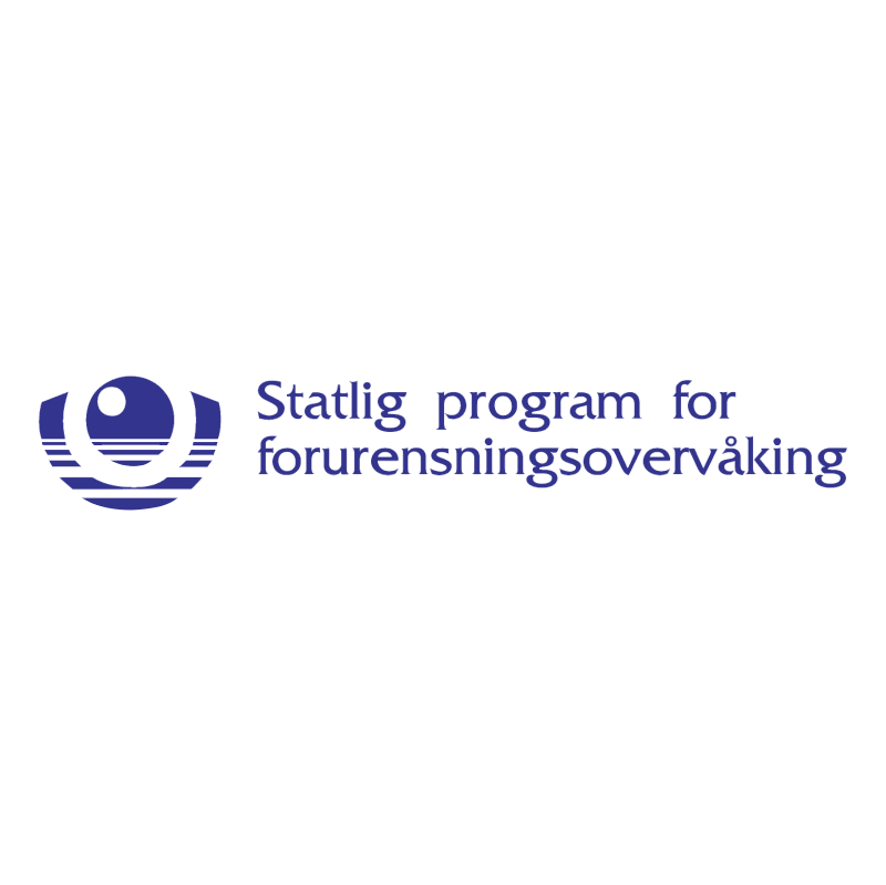 Statlig program for forurensningsovervaking vector