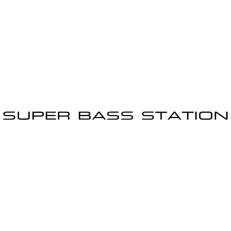 Super Bass Station vector