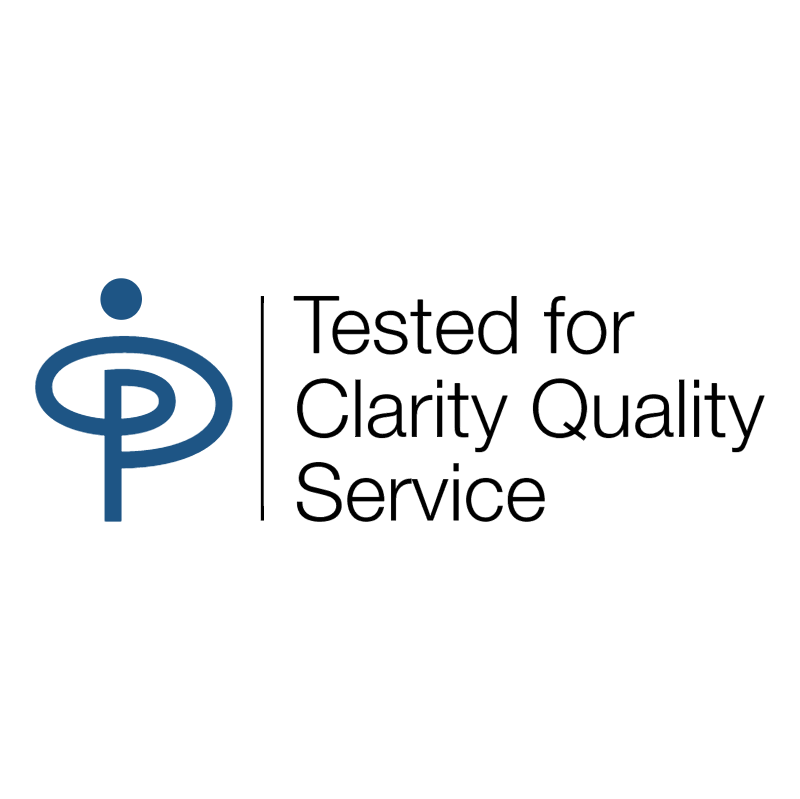 Tested for Clarity Quality Service CIS Co operative Insurance vector logo