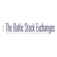 The Baltic Stock Exchanges vector