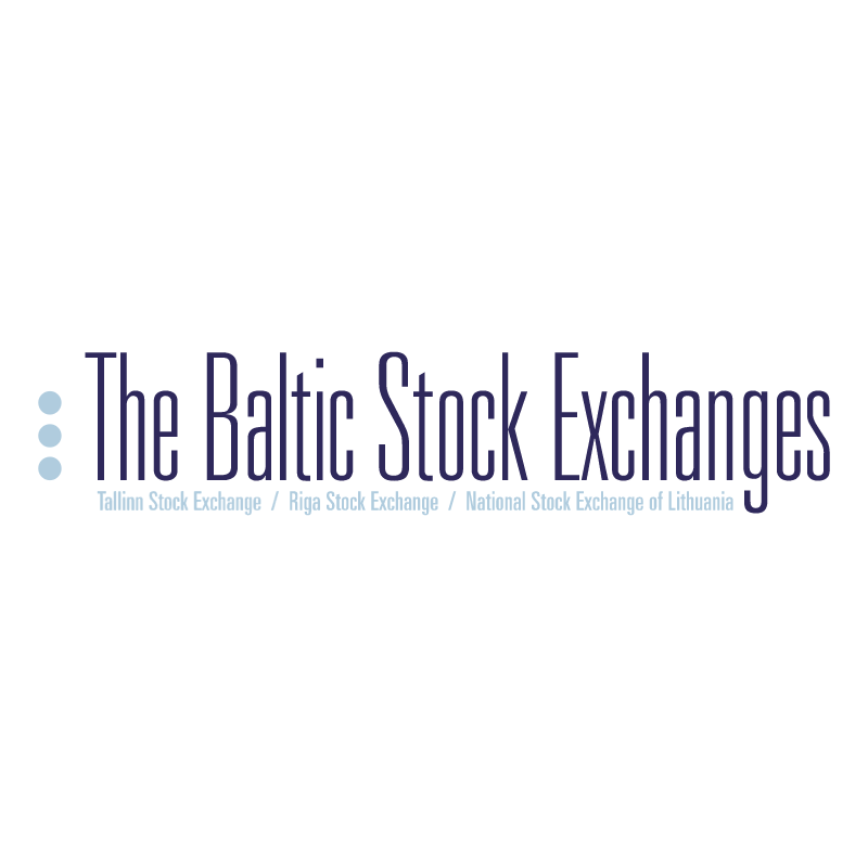 The Baltic Stock Exchanges vector logo