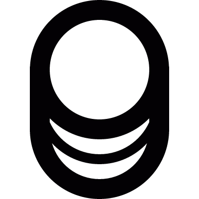 Database symbol vector logo