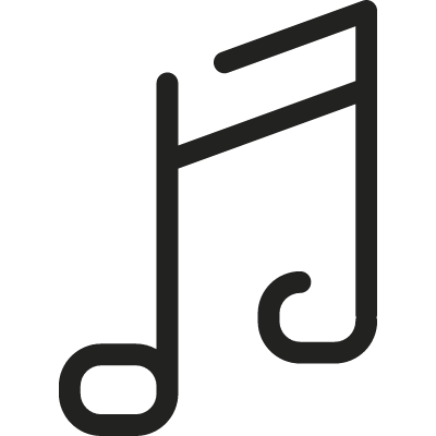 Music Symbol vector logo