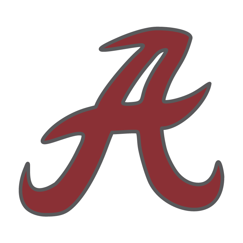 Alabama Crimson Tide vector logo