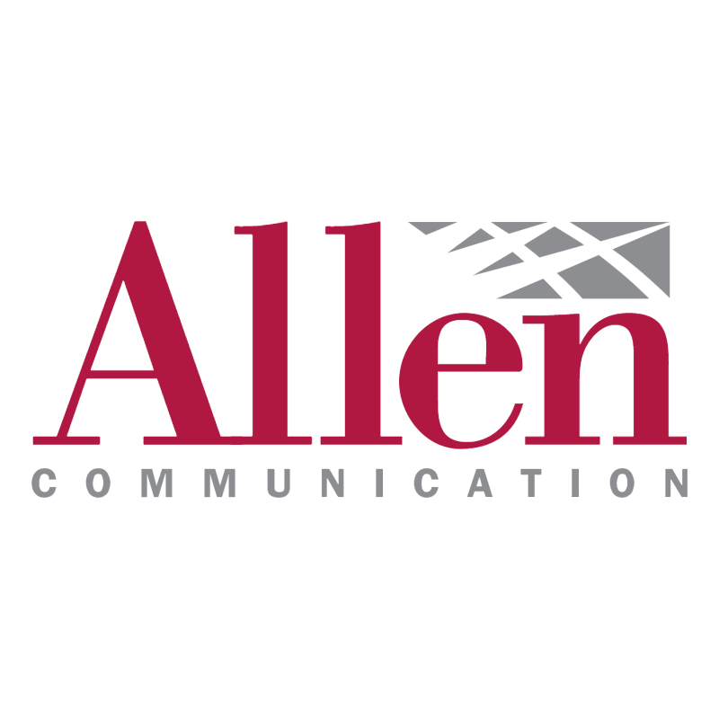 Allen Communication 40538 vector logo