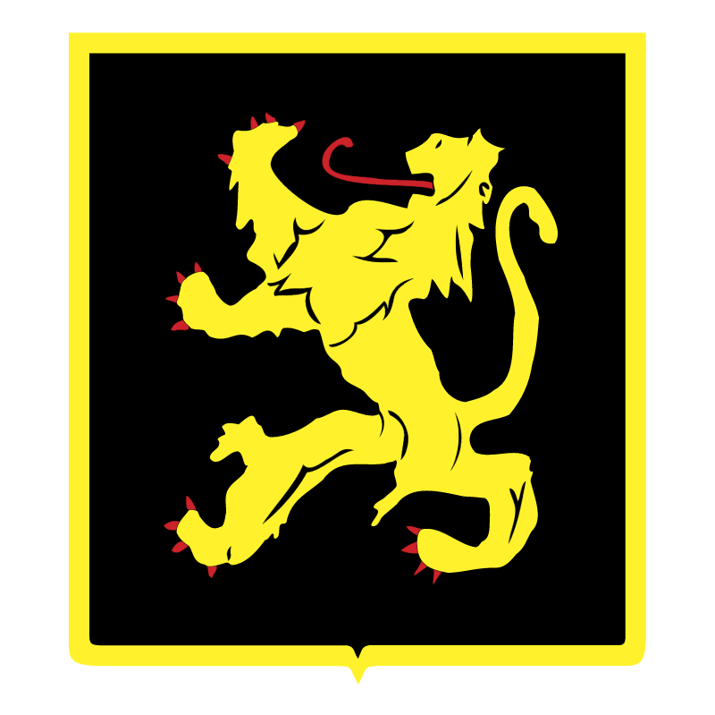 Belgian Lion vector