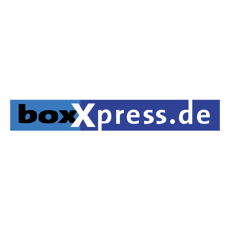 boxXpress de 84373 vector