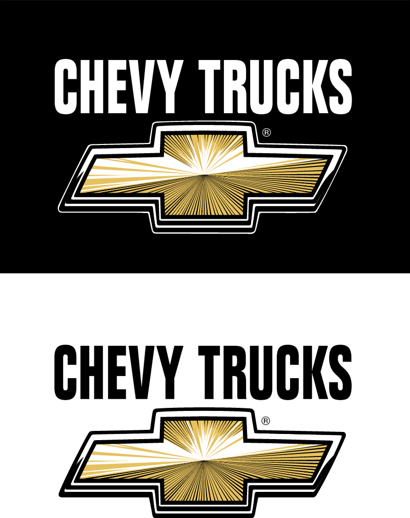 Chevy Trucks logos3 vector