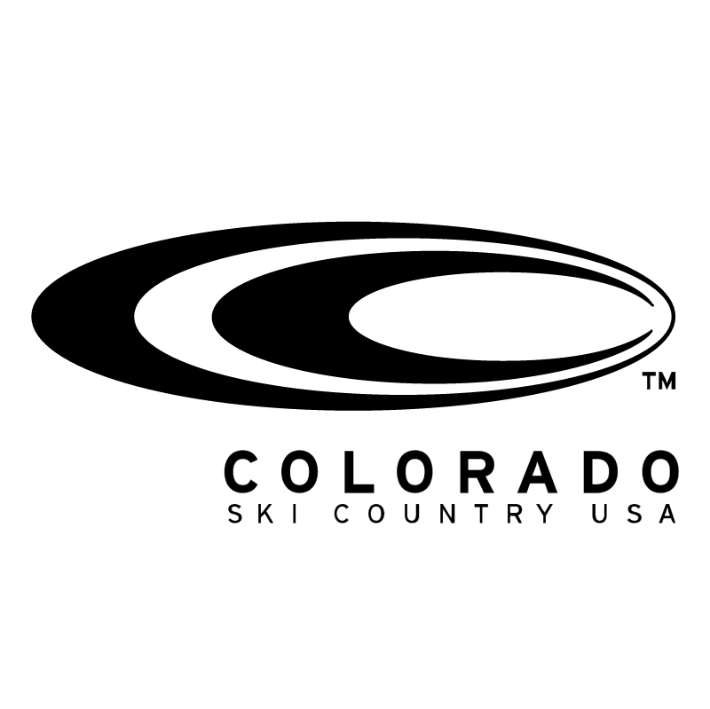 Colorado Ski Country USA vector