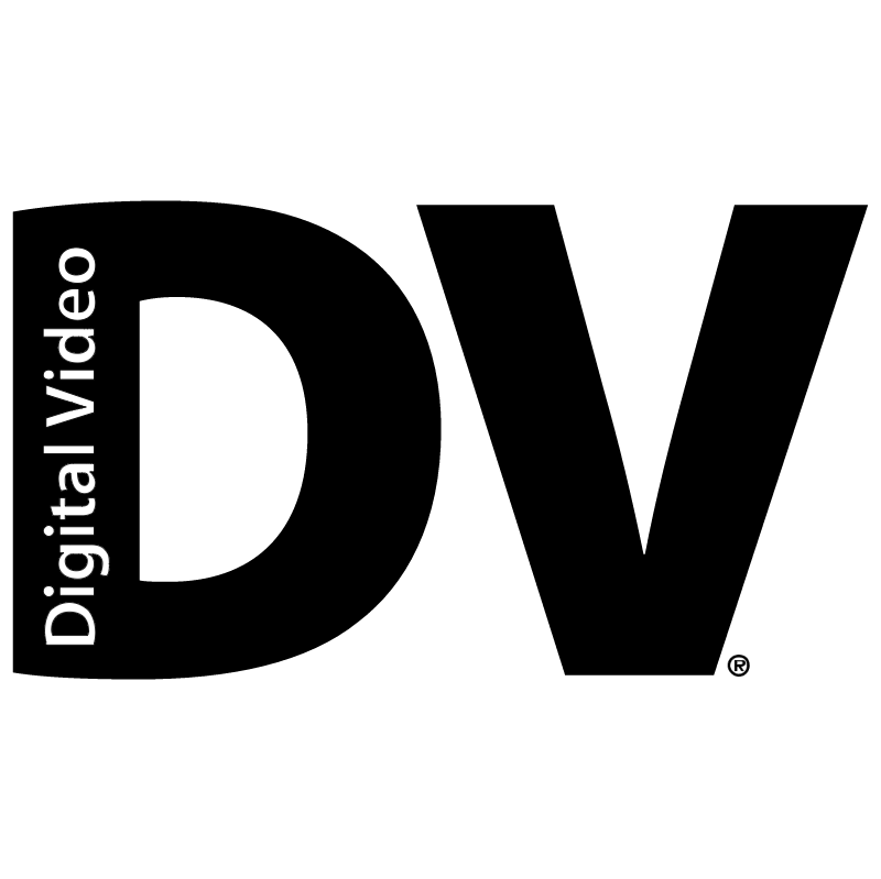 DV Digital Video vector