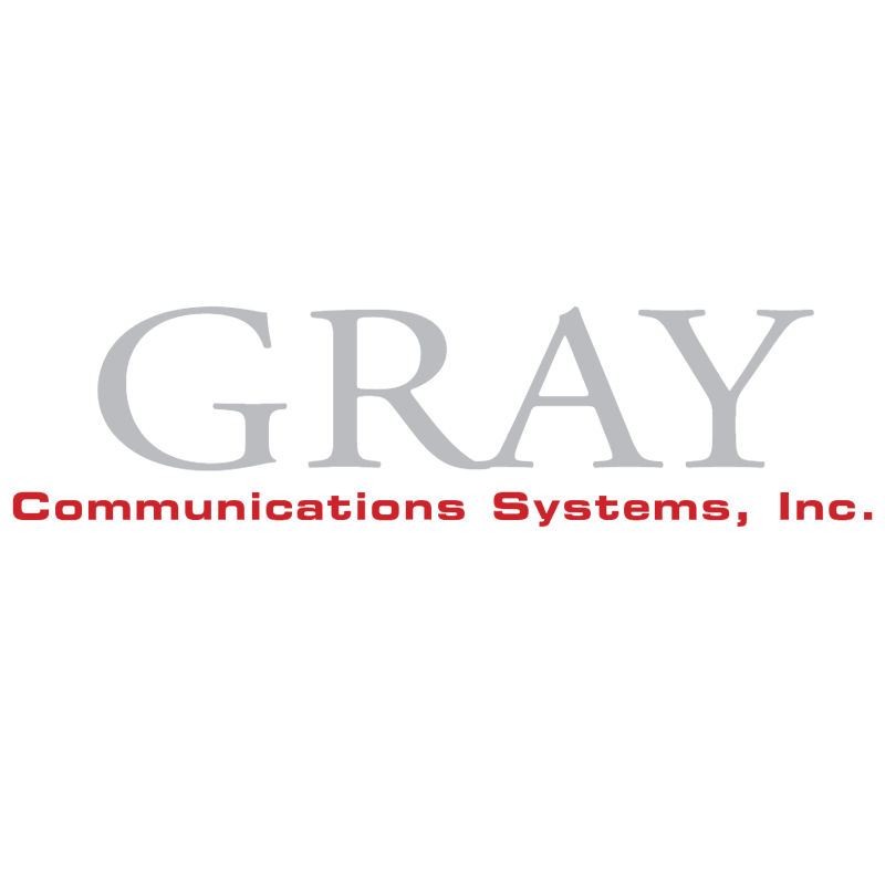 Gray Communications vector