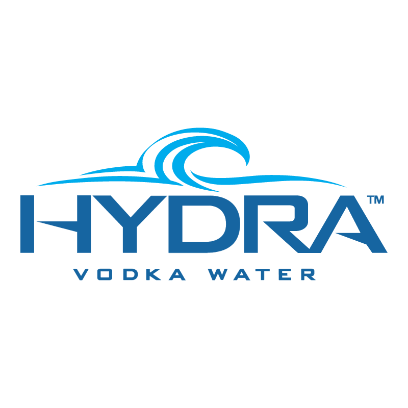 Hydra Vodka Water vector