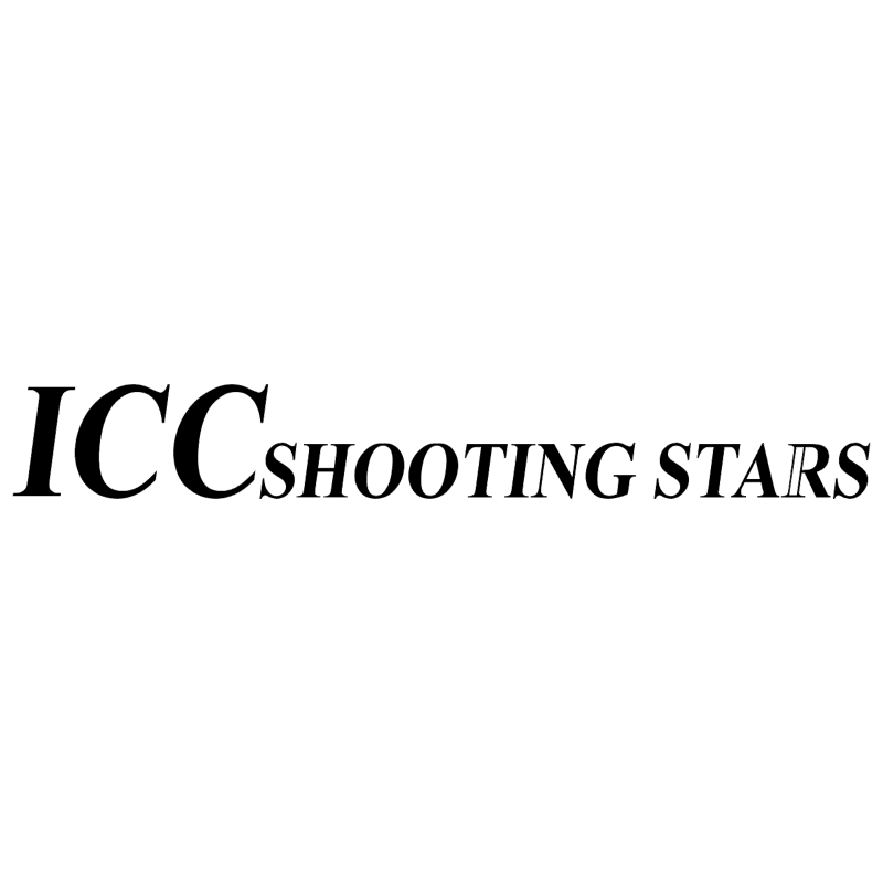 ICC Shooting Stars vector