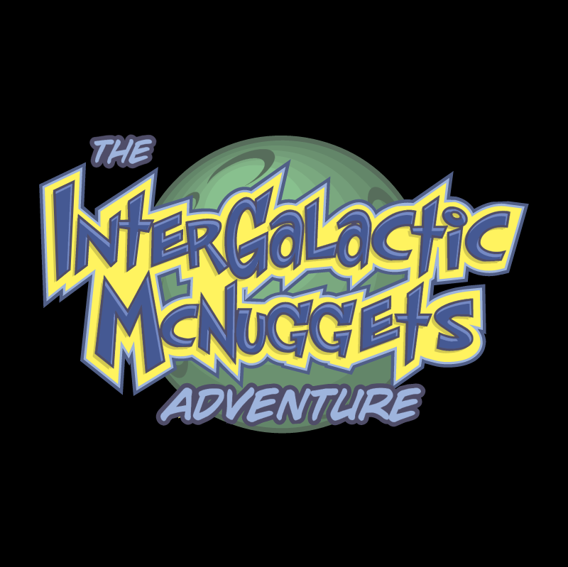 Intergalactic McNuggets Adventure vector