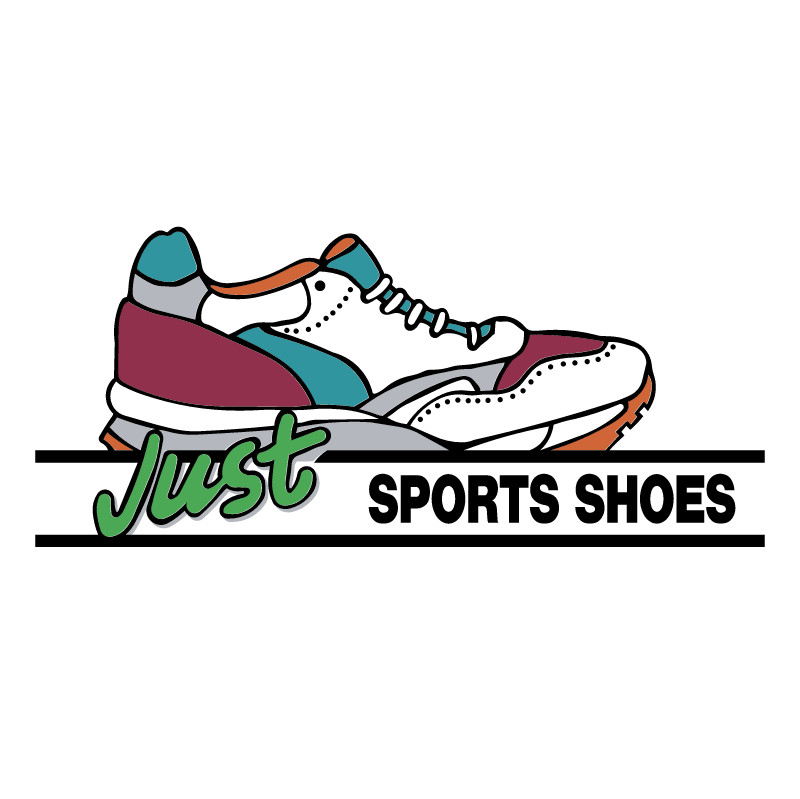Just Sport Shoes vector