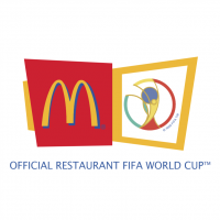 McDonald's Sponsor of 2002 FIFA World Cup vector