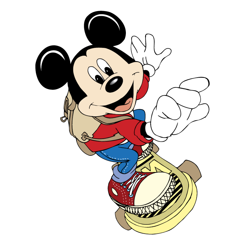 Mickey Mouse vector logo