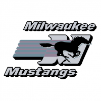 Milwaukee Mustangs vector
