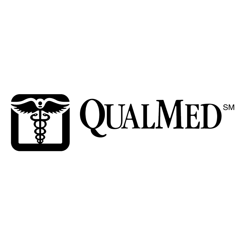 QualMed vector logo