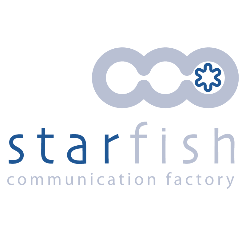 Starfish Communication Factory vector