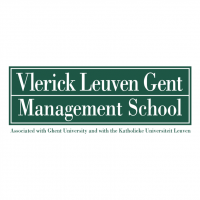 Vlerick Leuven Gent Management School vector