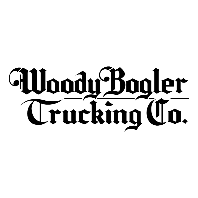 Woody Bogler Trucking vector