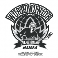 World Junior IIHF Championship 2003 vector