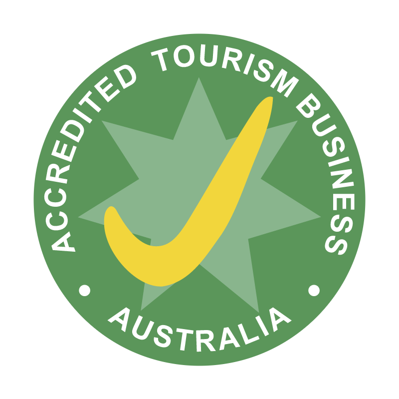 Accredited Tourism Business Australia vector