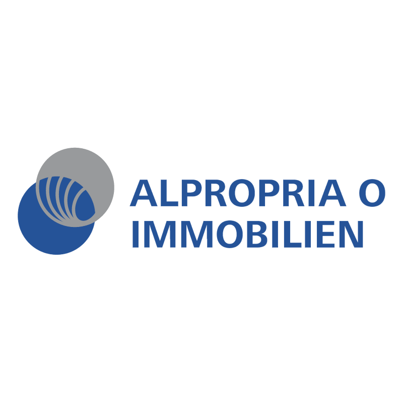Alpropria O Immobilien vector
