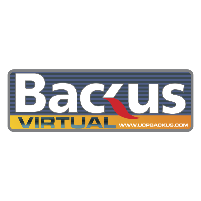 Backus Virtual vector logo