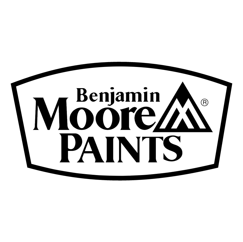 Benjamin Moore Paints 55665 vector
