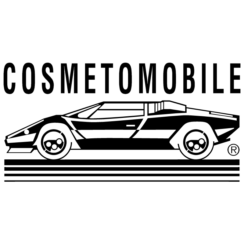 Cosmetomobile vector