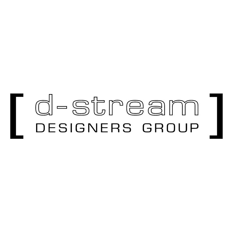 d stream designers group vector logo