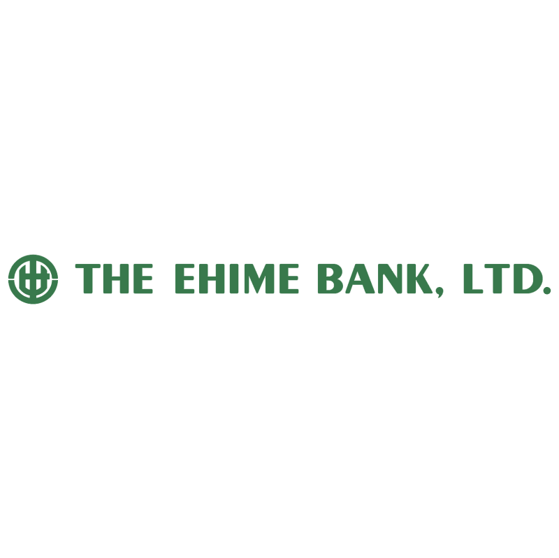 Ehime Bank vector