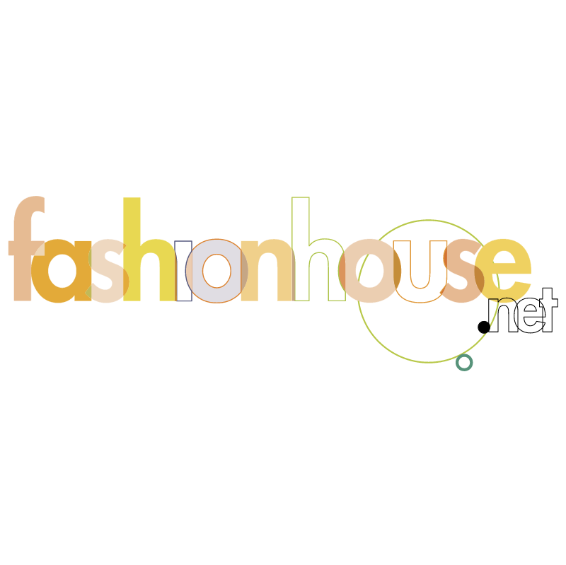 fashionhouse net vector logo