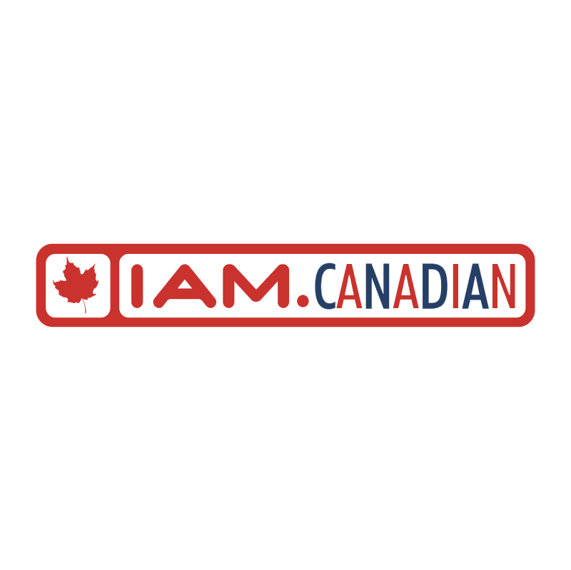 I Am Canadian vector logo