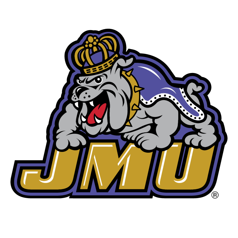 James Madison Dukes vector