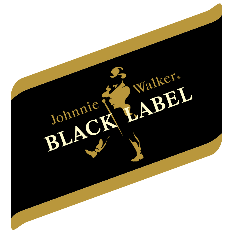 Johnnie Walker Black Label vector