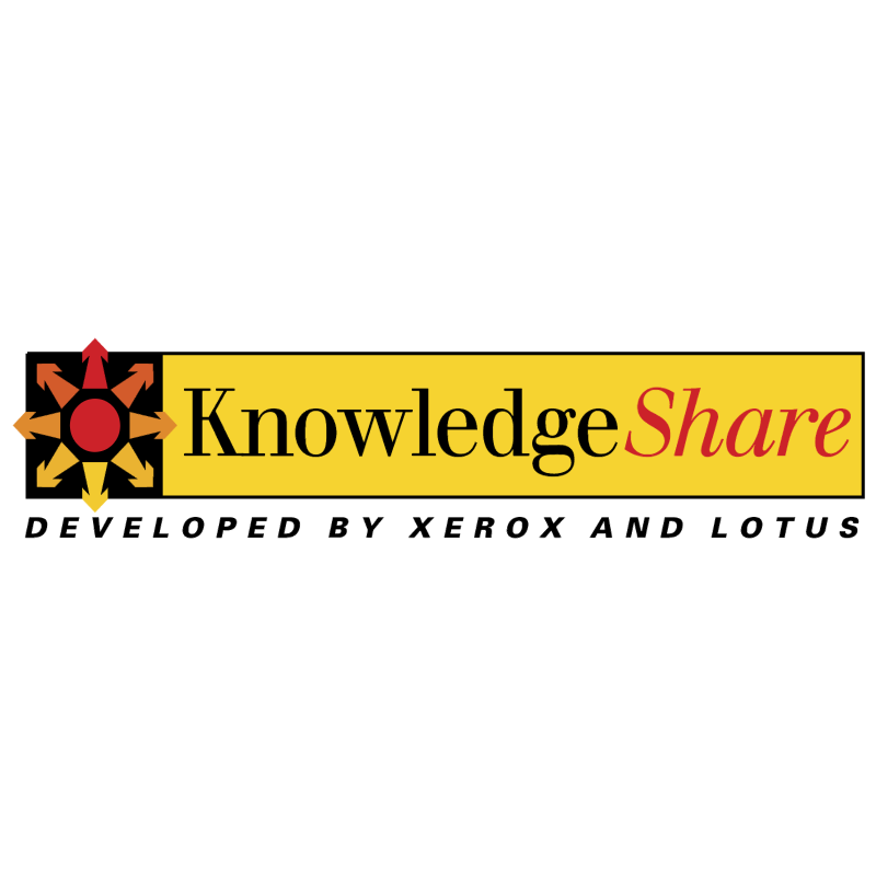 KnowledgeShare vector