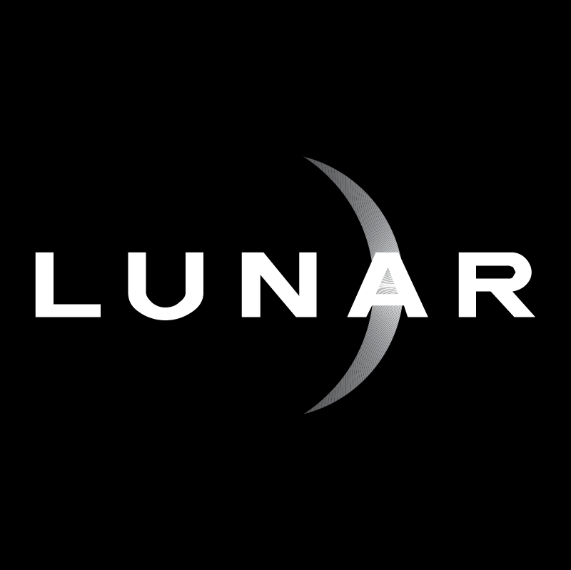 Lunar Design vector logo