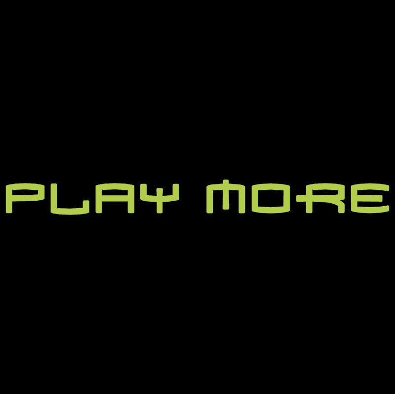 Microsoft XBOX Play More vector logo