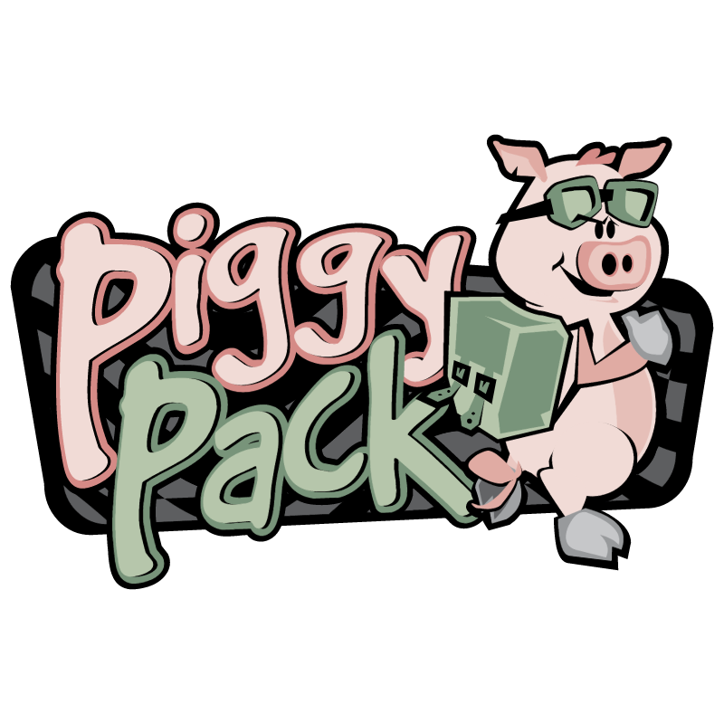 Piggy Pack vector