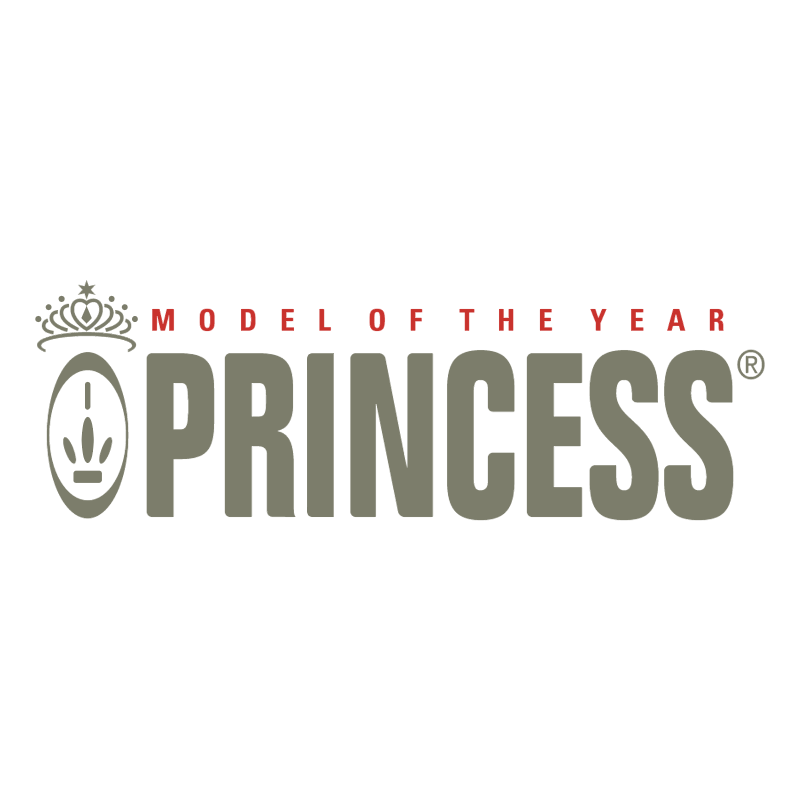 Princess vector logo