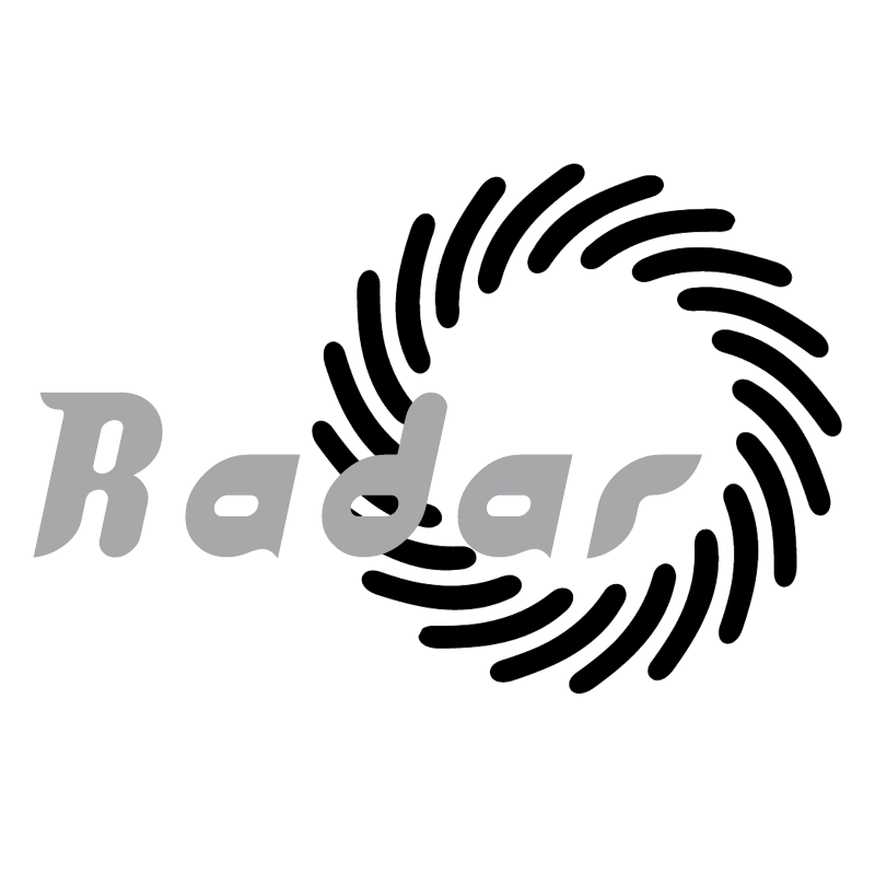 Radar vector logo